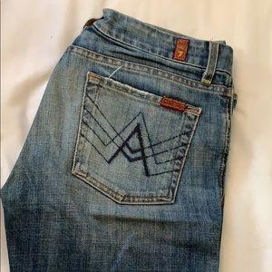 """A Pocket"" 7's Jeans"